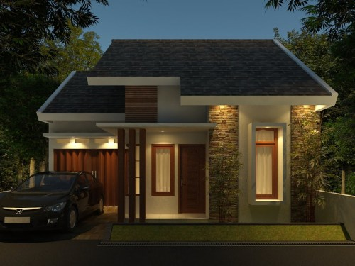 Desain Rumah Minimalis 2 Lantai 2 Kamar Tidur Rumah