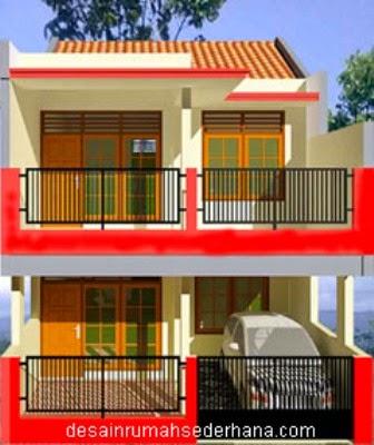 Contoh Rumah Minimalis 2 Lantai Tipe 21 Rumah Minimalis Okeblog