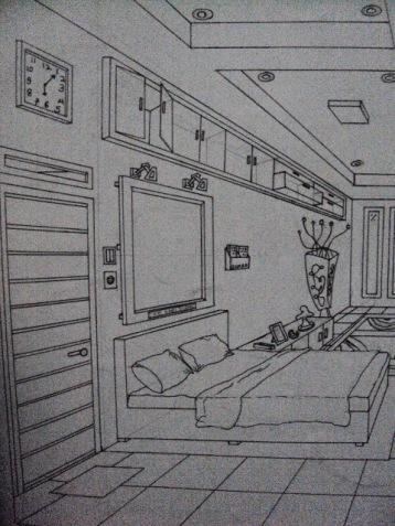 Desain Eksterior 2 Titik Lenyap Rumah Minimalis Okeblog