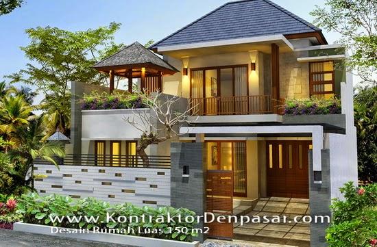desain rumah minimalis 2 lantai luas tanah 150 m2 rumah